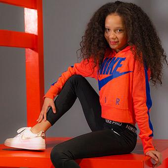 Mini model Megan on Lifestyle sports kids summer campaign - Assets